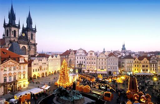 Сказочный Новый Год в Праге